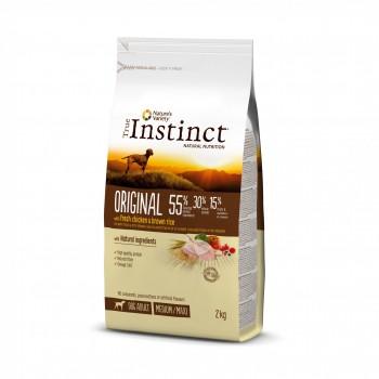 True Instinct Dog Original Chicken Med/Maxi 12кг