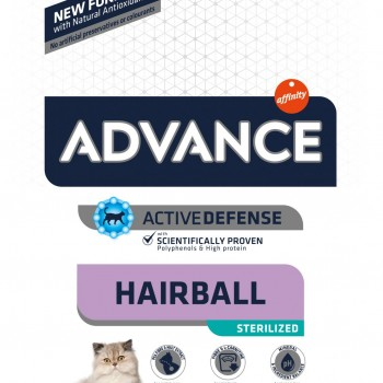 Advance Hairball Sterilized Turkey and Barley